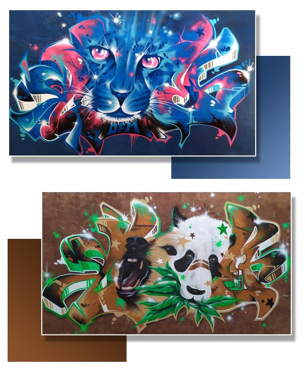 Présentation décoration street art